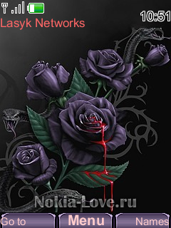 Gothic style a Rose