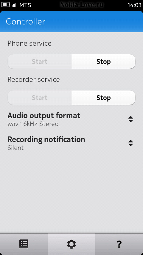 Call Recorder 0.0.9