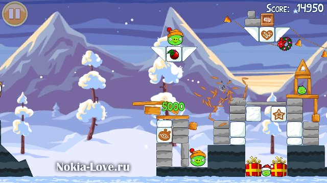 Angry Birds Seasons v.2.01 Wreck the Halls