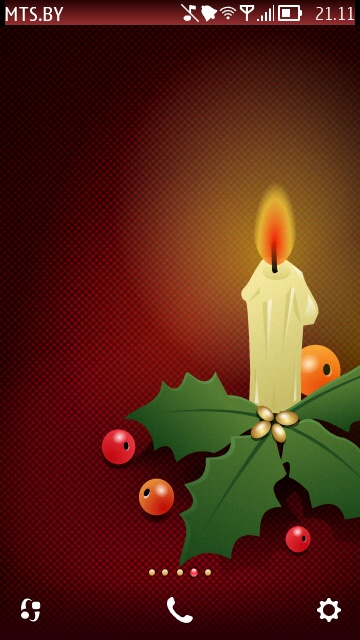 Christmas Candle by AttisX