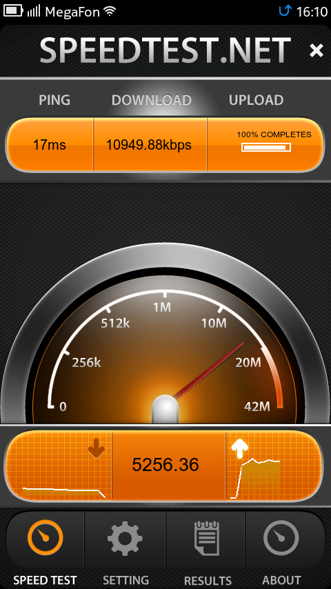 SpeedTest 1.0.0