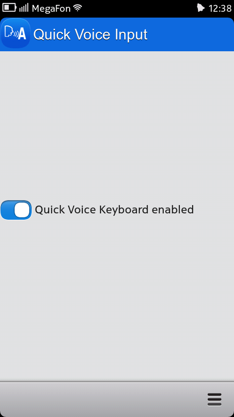 Quick Voice Input Keyboard 0.0.5