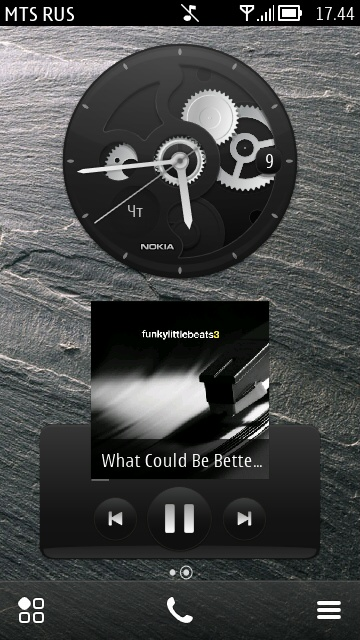 Mechanic Clock Widget