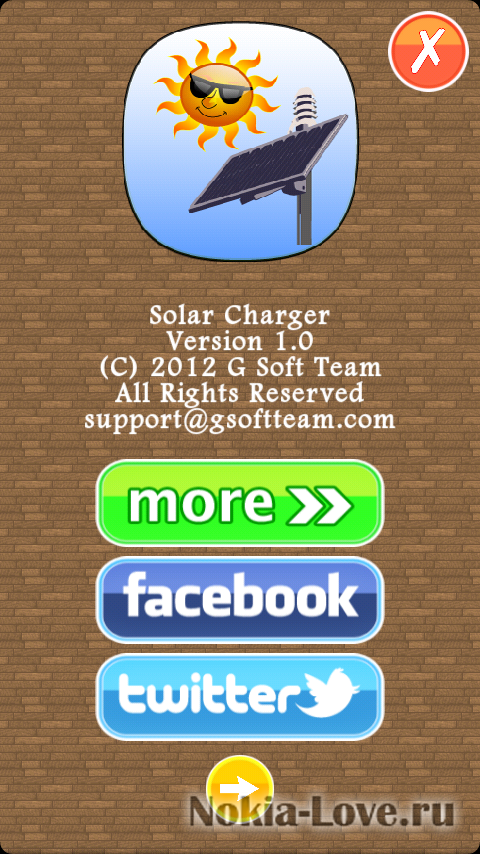 Solar Charger 1.0.0