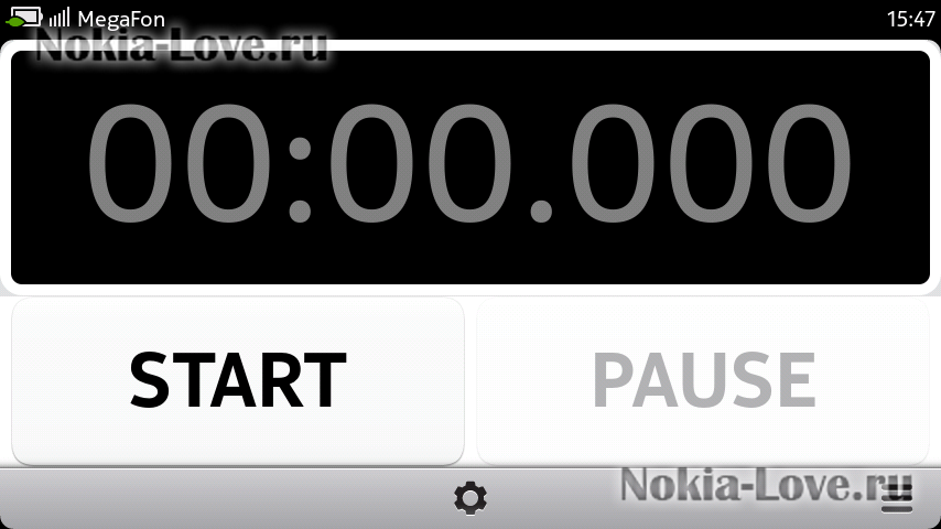 Easy StopWatch for N9 0.7.0