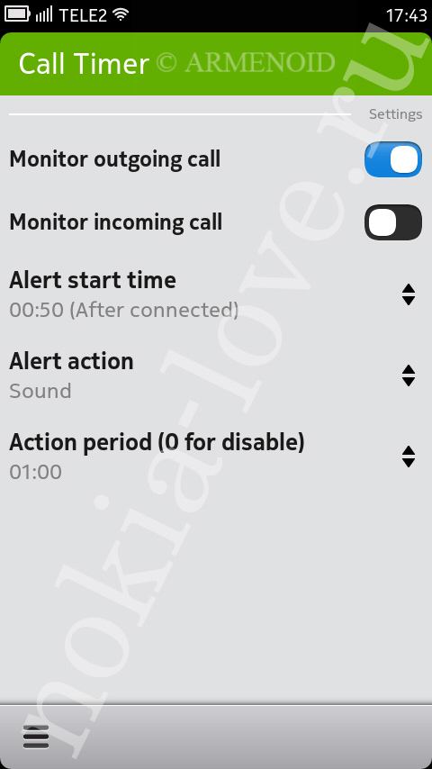 Call Timer 1.0.1
