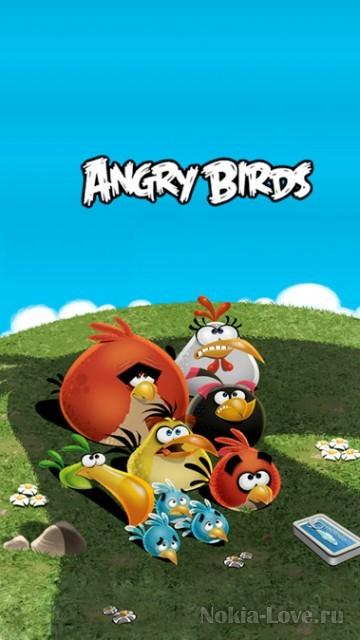 Angry Birds Pack №1 by Killer