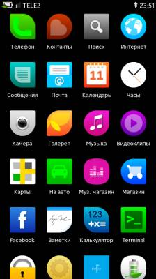 Sailfish OS Theme