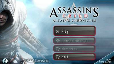 Assassins Creed Altair's Chronicles HD 1.07