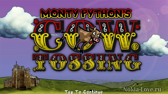 Monty Pythons Cow Tossing