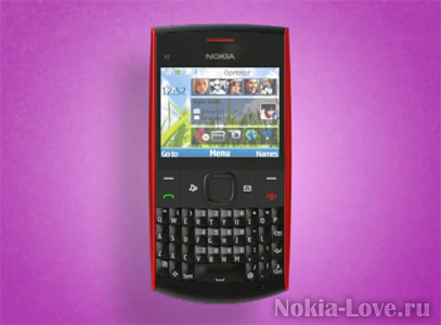 Nokia X2-01 - ????????? ??????? ? QWERTY-??????????? - ????????? ??????? - Nokia-Love