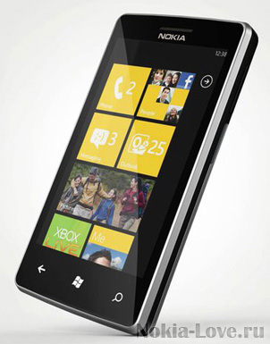 Концепт Nokia на Windows Phone 7