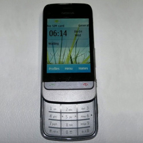 Первый Touch and Type слайдер Nokia
